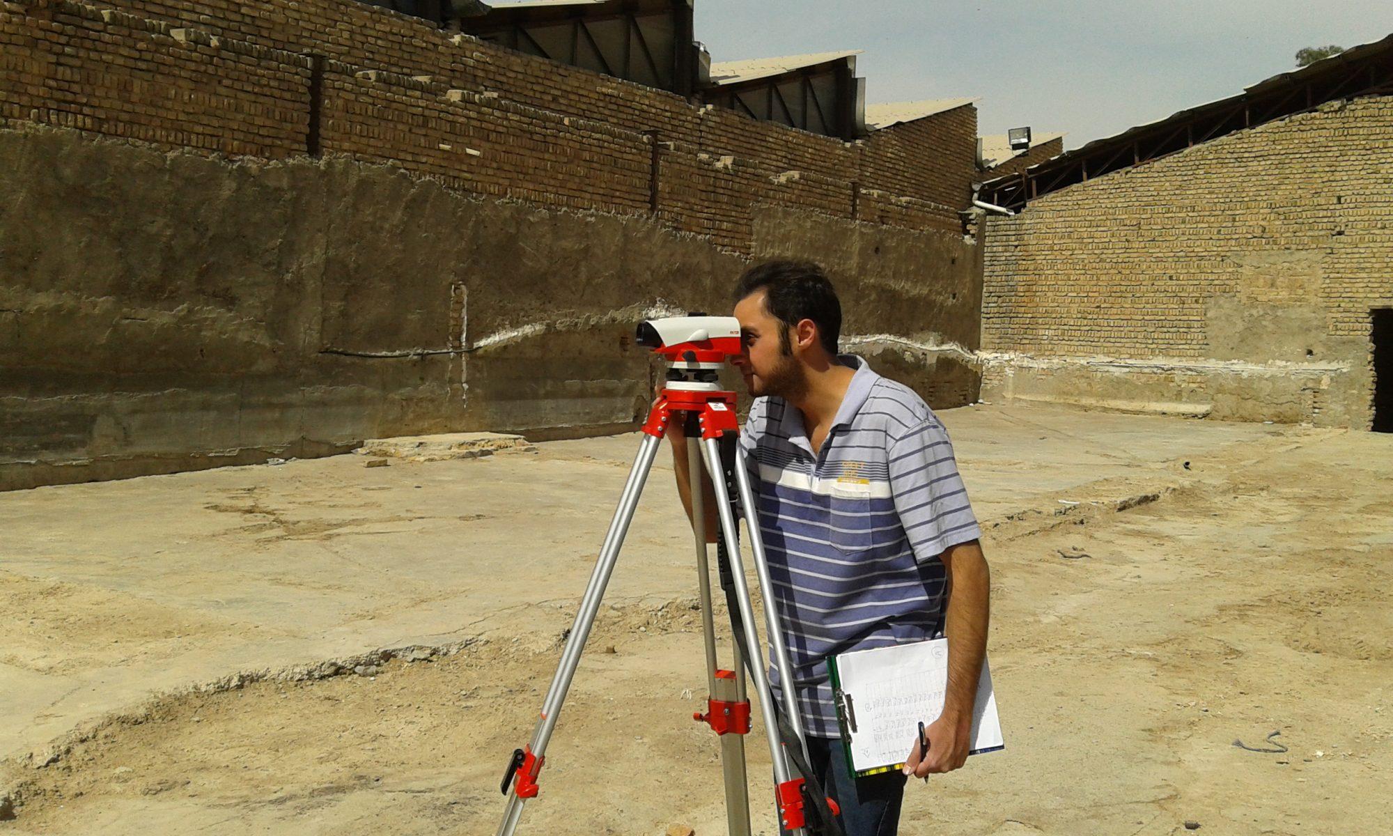 مهندس بابک اسحاقیان متخصص نقشه برداری